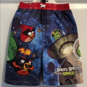 Angry Birds Swim Shorts Trunks 4T